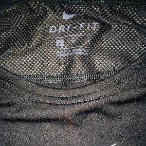 Nike Shirts - Nike Dri Fit Pro Black Long Sleeve Active Shirt LG